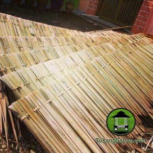 atap kayu rumbia