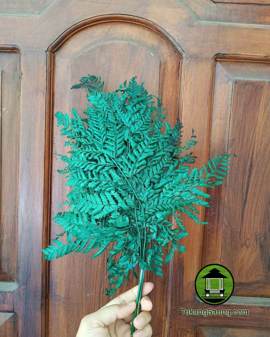 jual daun pakis artificial
