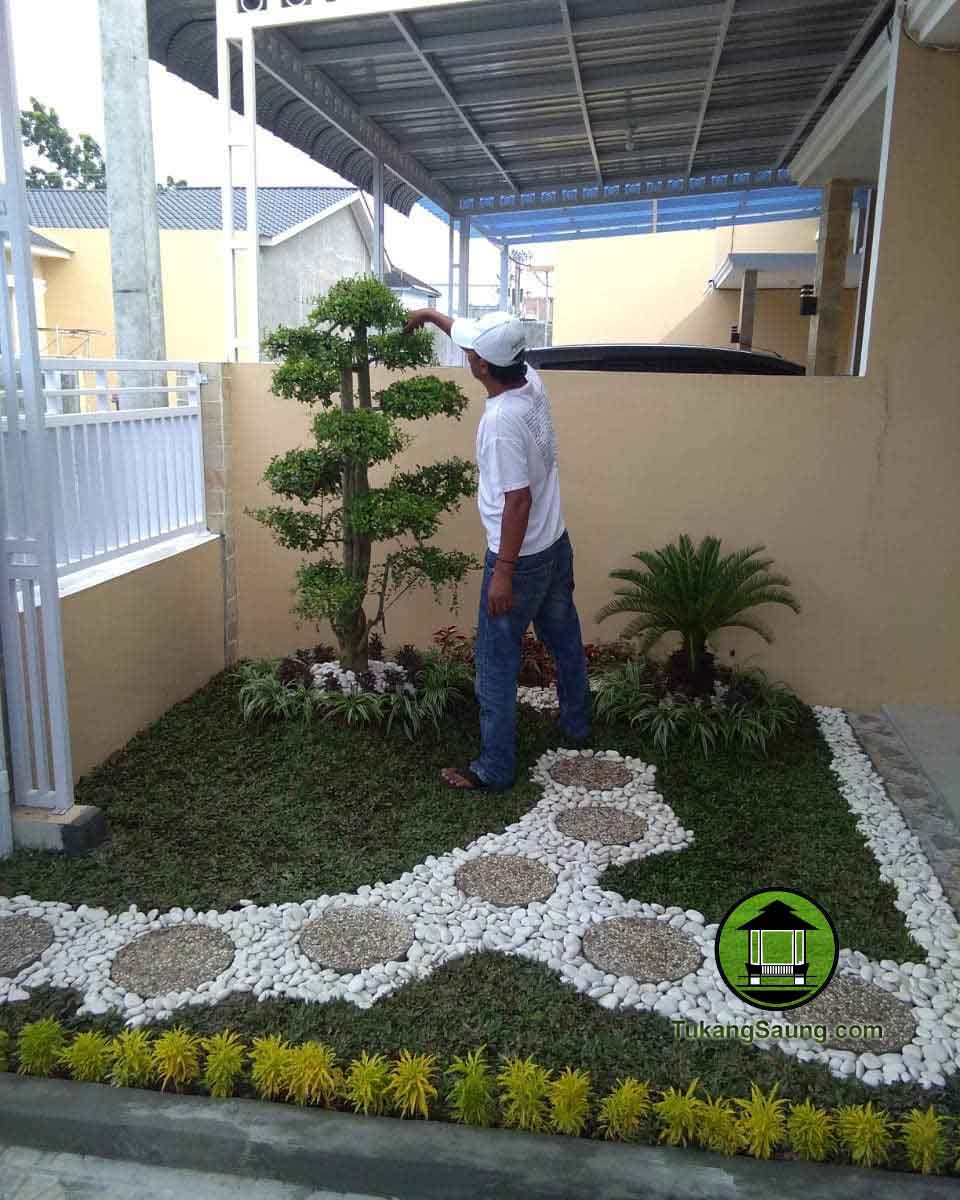 tukang taman kering