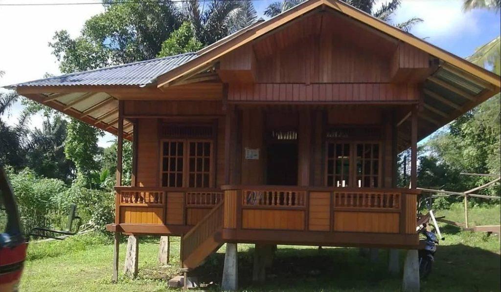 jasa pembuatan rumah dengan kayu jati