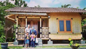 Jasa Pembuatan rumah bambu
