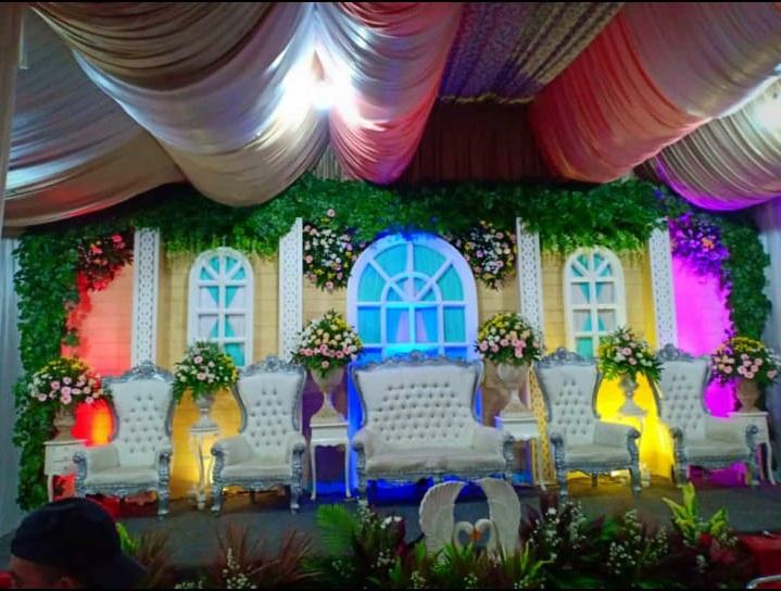 Jasa desain Taman pernikahan di ciledug