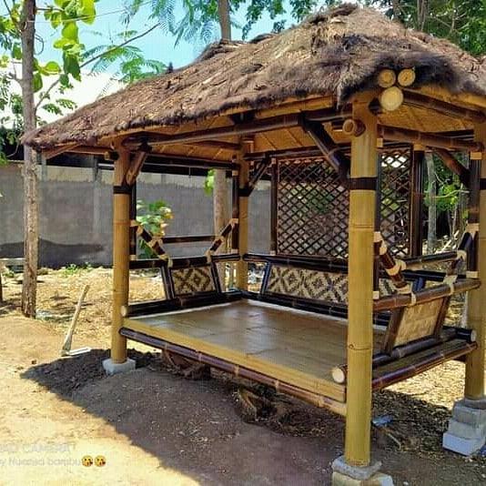 gazebo bambu 2 x3
